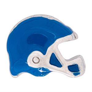 Picture of Blue Football Helmet Charm