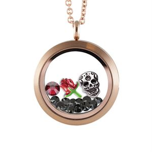 Picture of Silver Sugar Skull Locket